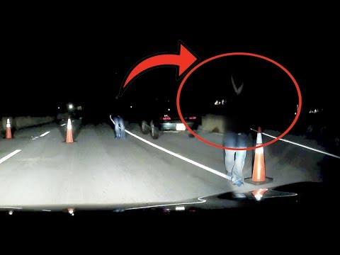 SKETCHY CAR FOLLOWS US DOWN ABANDONED GHOST TOWN AT 3AM..