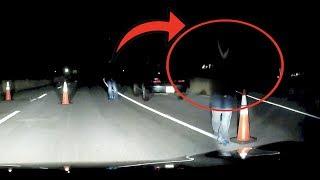 SKETCHY CAR FOLLOWS US DOWN ABANDONED GHOST TOWN AT 3AM.. thumbnail