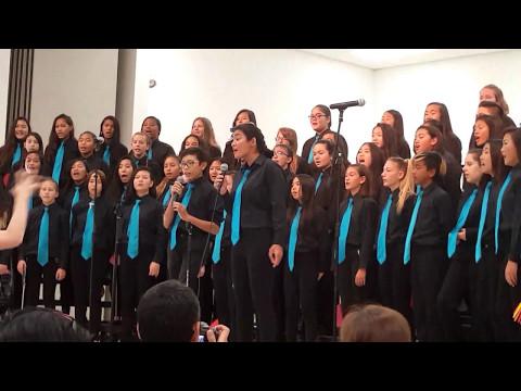 Dream on. Mililani middle school chorus cover 5-10-17