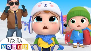 Boo Boo In The Snow | Play Safe Song & More Nursery Rhymes by Little Angel