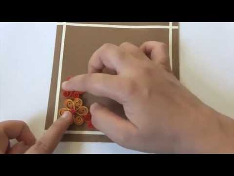 Crafty Creations by Anu -Mother&39;s day Quilling Card