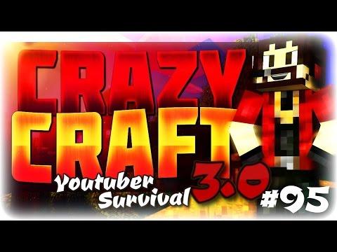 "Minecraft Crazycraft 3.0 Youtuber Survival #95 ""Wakanda Again???"""