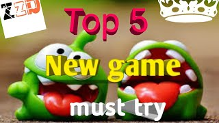 Top 5 new game for Android