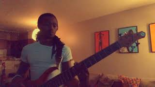 White Lines - Rick Ross (Bass Cover) Port of Miami 2