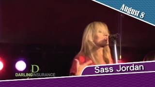 Sass Jordan, August 8 2015