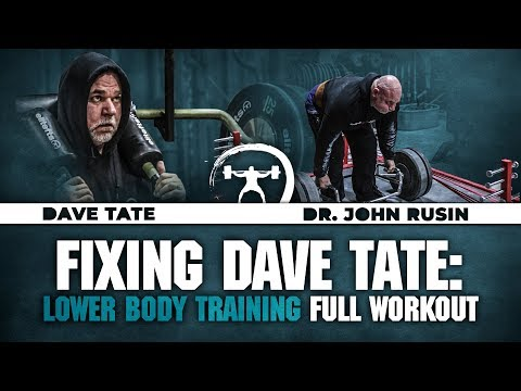 Fixing Dave Tate: Lower Body Full Workout | Elitefts.com