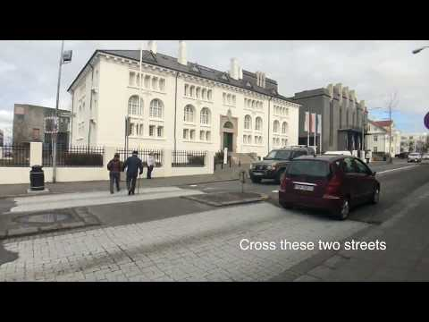 Walk from the National Museum of Iceland to the Culture House