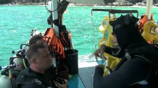видео Дайвинг в Таиланде