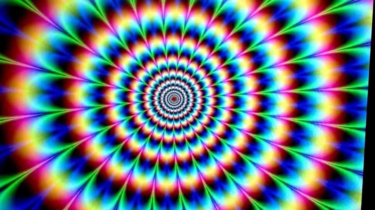 Fokussiere den Kreis , Verliere dich in den Formen , Farben ,Kreise ...