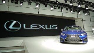 2016 Lexus GS F - 2015 Detroit Auto Show