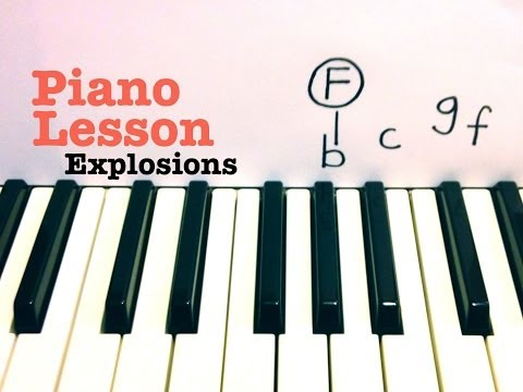 Explosions Piano Chords Ellie Goulding Khmer Chords