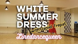 White Summer Dress Line Dance