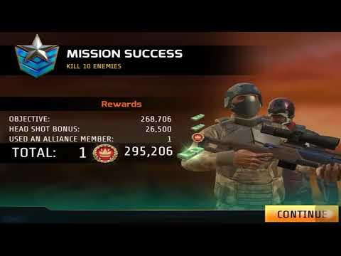 Kill Shot Bravo BLOOD SHOT Region 31 Primary Mission 11-20 Gameplay