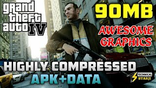 [90MB] How To Download Highly Compressed GTA 4 APK+DATA Download Android Mobile Hindi/Urdu