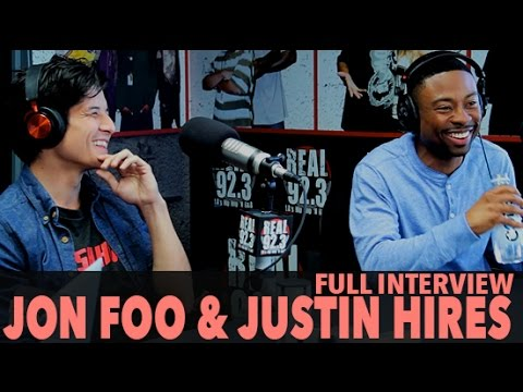 "Download Jon Foo & Justin Hires on ""Rush Hour"", Auditions, And More! (Full Interview) 