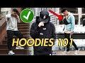 How To | STYLE HOODIES (Streetwear)