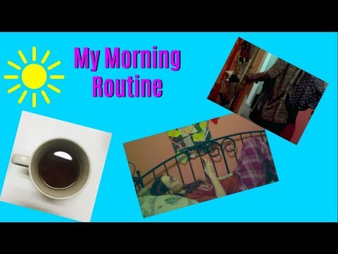 My School Morning Routine | Alyson Mary