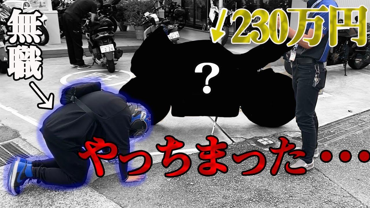 【ガチ購入】無職ニートに230万円の大型バイク買わせたら発狂した【モトブログ】