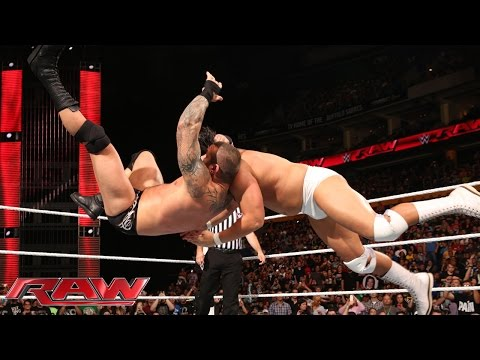 Randy Orton vs. Bo Dallas: Raw, Sept. 28, 2015