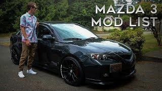 MAZDA 3 MOD LIST!   2007 Mazda 3