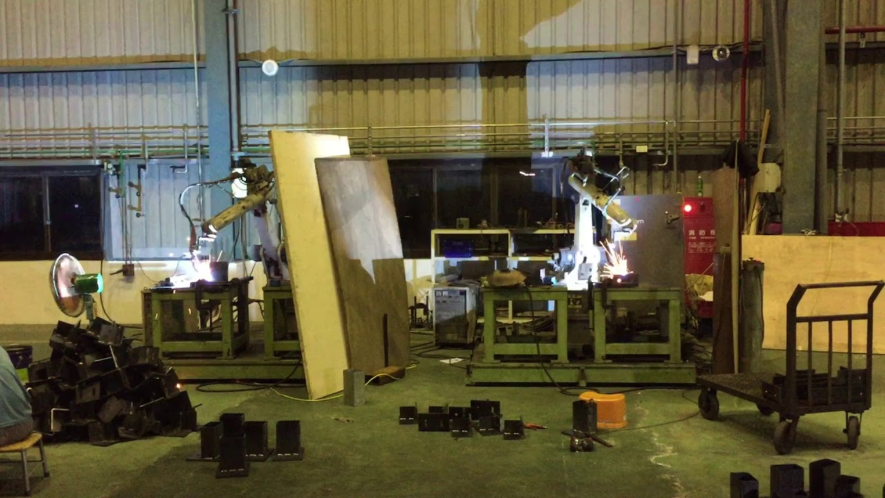 Co2 Robotic Arm Welding