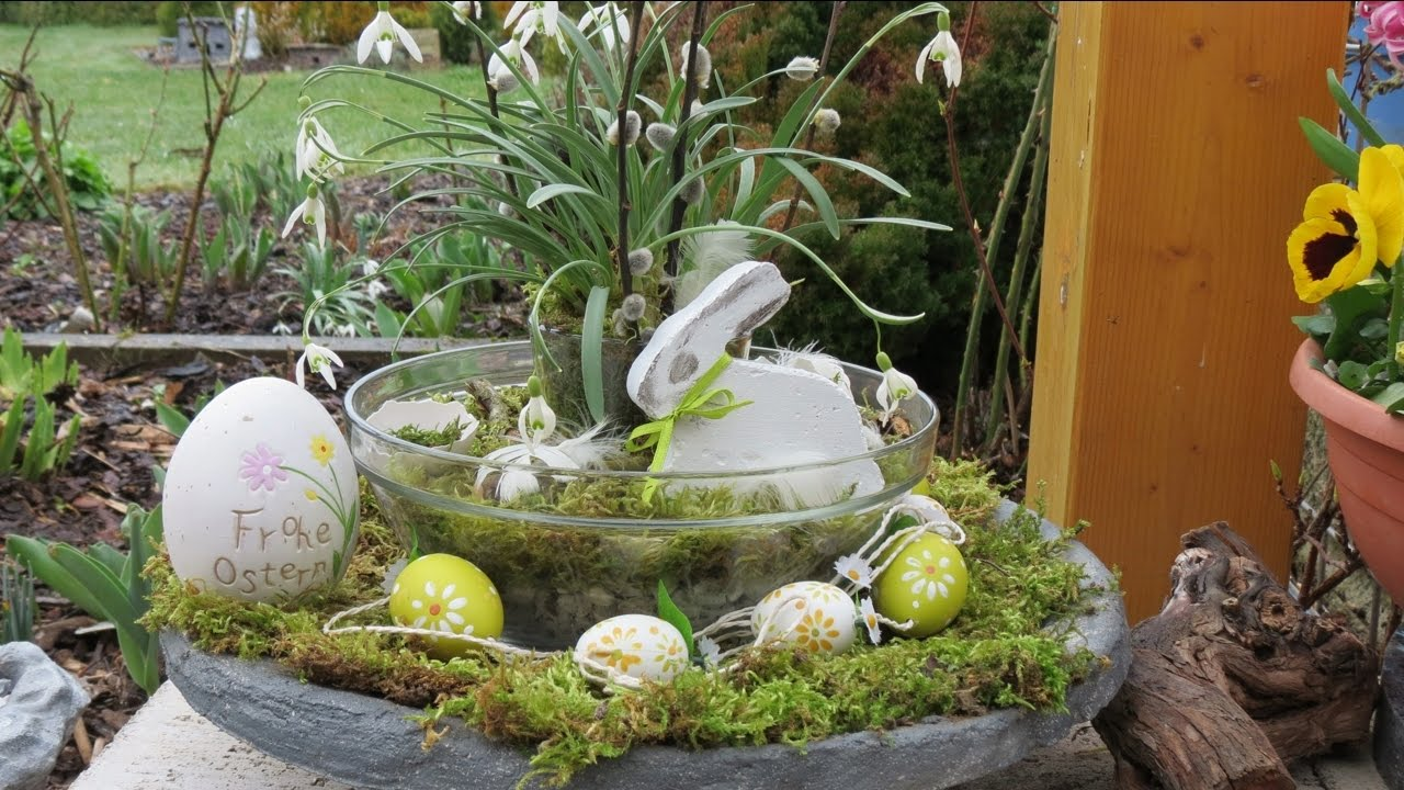 Ostern Dekoration.Frühling Ostern Dekoration Selber Machen Decoration Ideas