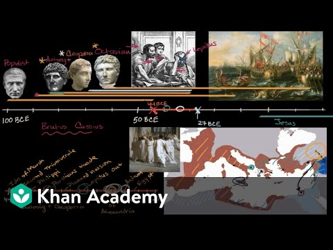 Augustus becomes first Emperor of Roman Empire | World History | Khan Academy