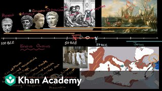 Augustus becomes first Emperor of Roman Empire   World History   Khan Academy