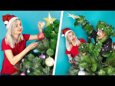 13 новогодних пранков и лайфхаков для сестер!