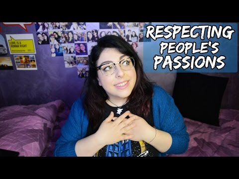Respecting People's Passions | klairehumanoid