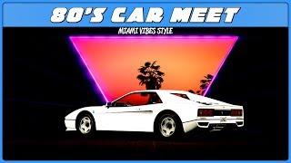 GTA 5 Online 80's Car Meet!