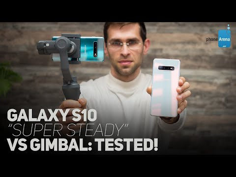"Galaxy S10 Video Stabilization Tested: ""Super Steady"" Vs DJI Osmo Mobile 2"