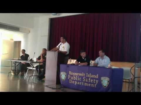 Taser Presentation By Roosevelt Island Public Safety Department (Part 3)