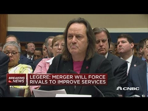 T-Mobile's Legere: Merger will take competition to new levels