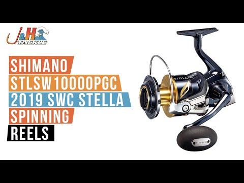 Shimano STLSW10000PGC 2019 SWC Stella Spinning Reels | J&H
