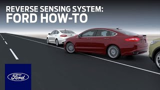 reverse sensing system ford how to ford youtube reverse sensing system ford how to ford
