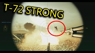 You won't believe this! танк!! - T-72 & BTR gameplay - Squad Full Round