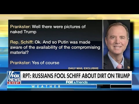Shifty Adam Schiff Gets Punk'd 2-9-18