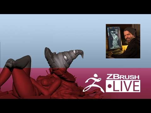 Jon Troy Nickel - 3D Sculpting for Figurine Production - Episode 3 (Part 1)