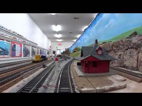 Redford model Railroad club cabride HO  4-12-2018