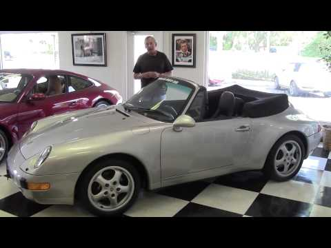 1998 Porsche 911/933 Carrera Air Cooled Vintage Classic Collectible  Tampa Bay Sports Cars