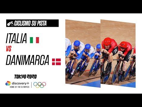 ITALIA vs DANIMARCA - INSEGUIMENTO A SQUADRE MASCHILE   Finali   Giochi olimpici - Tokyo 2020