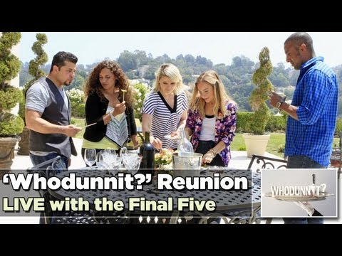LIVE Whodunnit Reunion with The Final Five Including the Killer and Winner   82013