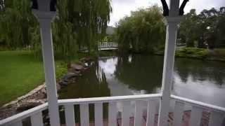 Beautiful Garden at Lakeside Cottage Luxury B&B