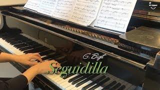 Seguidilla, Près des ramparts Séville, Carmen, Piano accompaniment, Opera karaoke