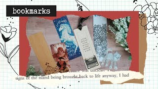 I Have A Lot Of Bookmarks // Bookmark Collection