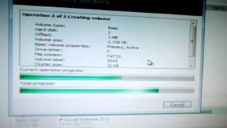 formatting a 3tb External Hard Drive for xbox 360 fat32