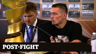 WBSS Usyk vs. Gassiev: Post-Fight Press Conference