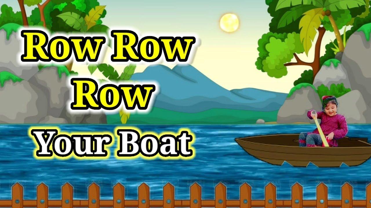 Row Row Row Your Boat - Kids Nursery Rhymes - Kids Songs 2020