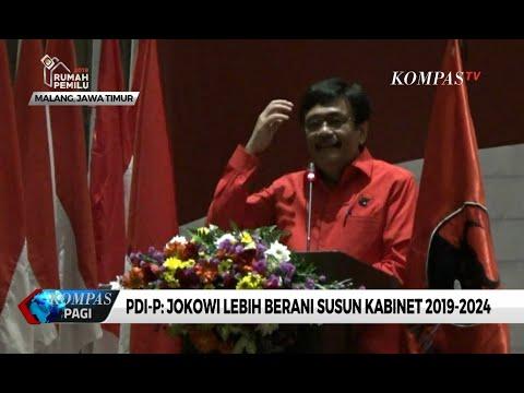 PDI-P: Jokowi Lebih Berani Susun Kabinet 2019-2024